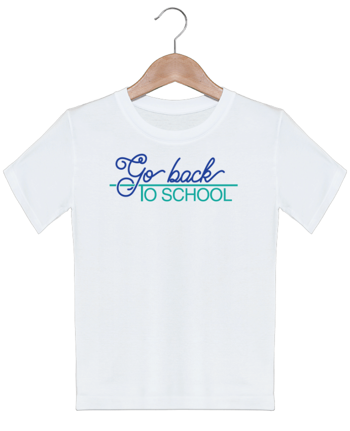 T-Shirt Kids Go back to school tunetoo