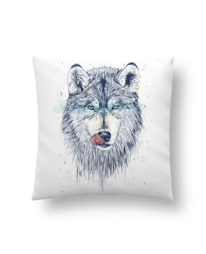Cushion synthetic soft 45 x 45 cm Dinner Time by Balàzs Solti