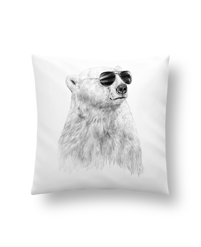 Cushion synthetic soft 45 x 45 cm Dont let the sun go down by Balàzs Solti