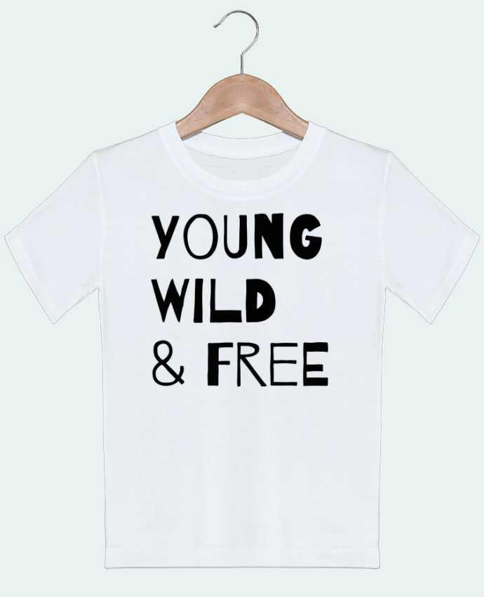 T-Shirt Kids YOUNG, WILD, FREE tunetoo