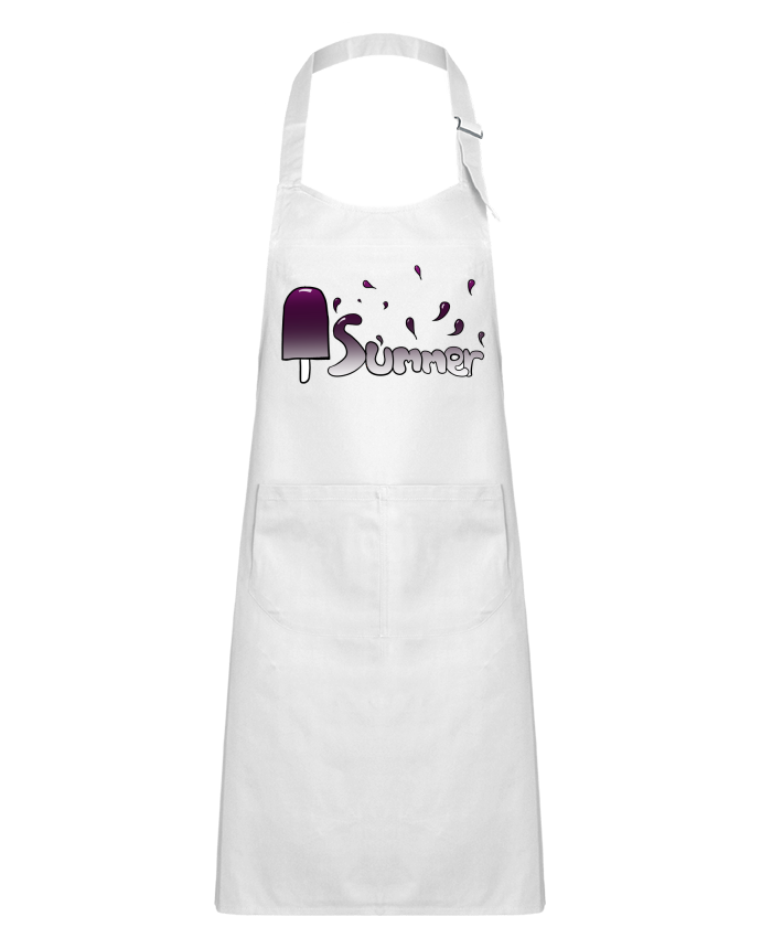 Kids chef pocket apron Summer version féminine by Tasca