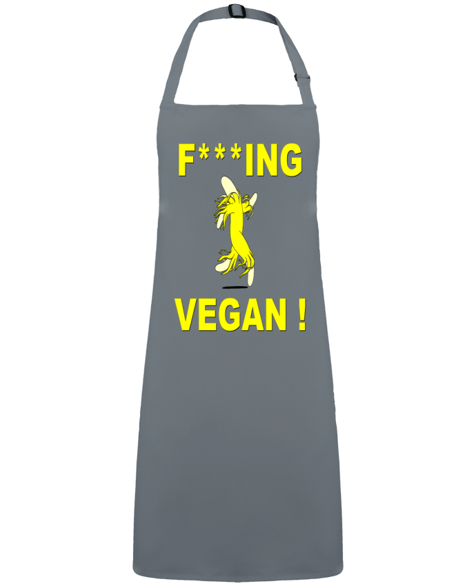 Apron no Pocket Fucking Vegan by  ilcapitano95