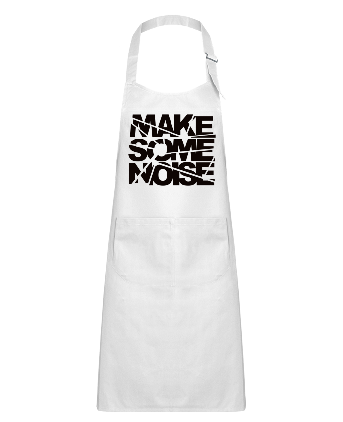 Kids chef pocket apron Make Some Noise by Freeyourshirt.com