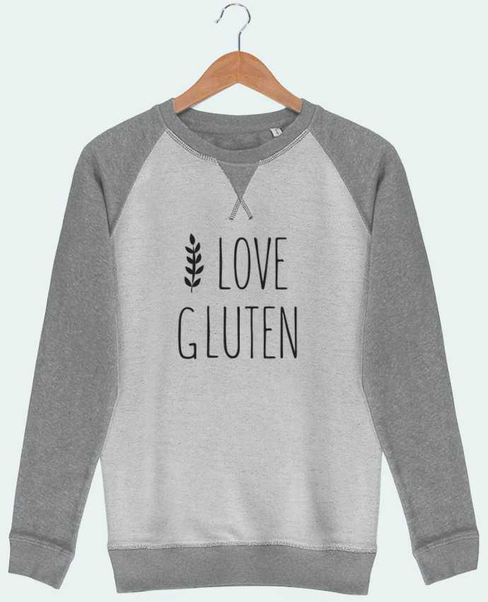 Sweat French Terry I love gluten by Ruuud by Ruuud