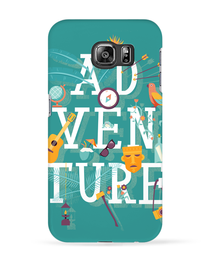 Case 3D Samsung Galaxy S6 My Type of Adventure - chriswharton
