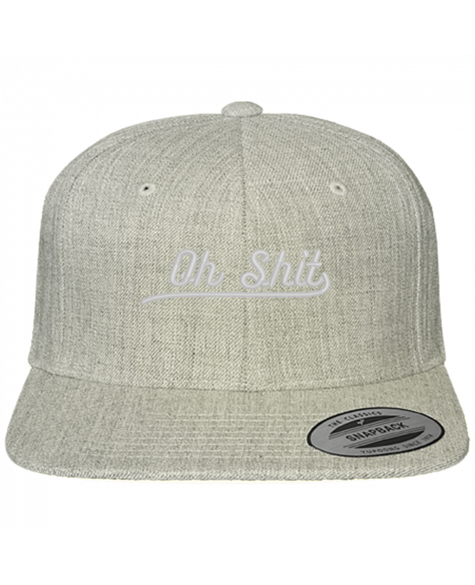 Snapback cap classique Oh shit by tunetoo