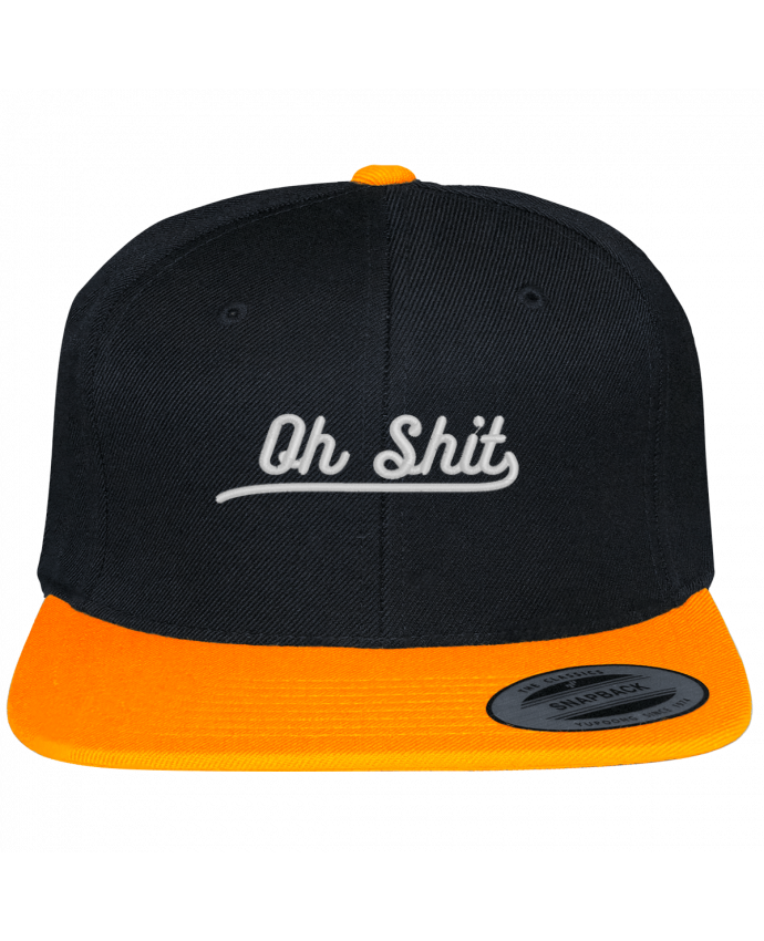 Snapback cap two-one varsity bicolore Oh shit by tunetoo