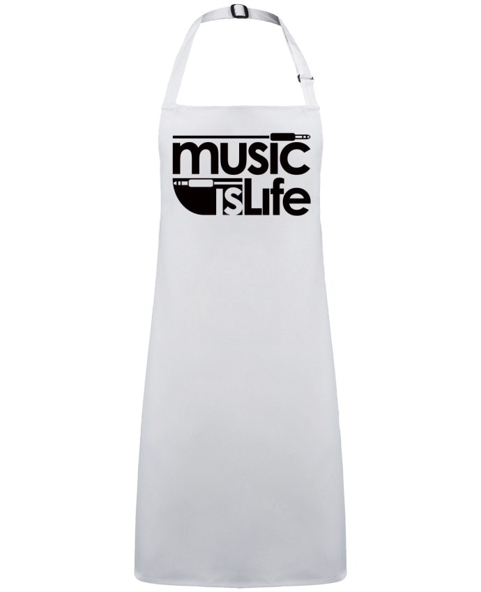 Apron no Pocket Music is Life by  Freeyourshirt.com