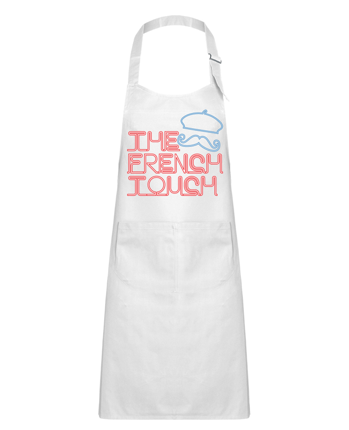 Kids chef pocket apron The French Touch by Freeyourshirt.com