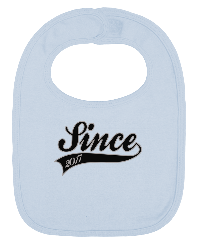 Baby Bib plain and contrast Since 2017 by justsayin