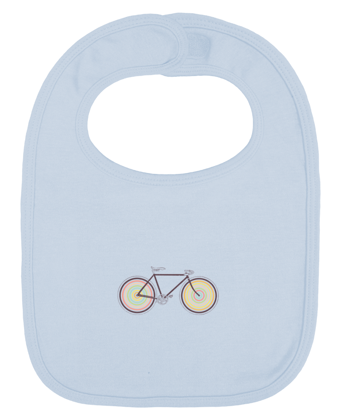 Baby Bib plain and contrast Velocolor by Florent Bodart