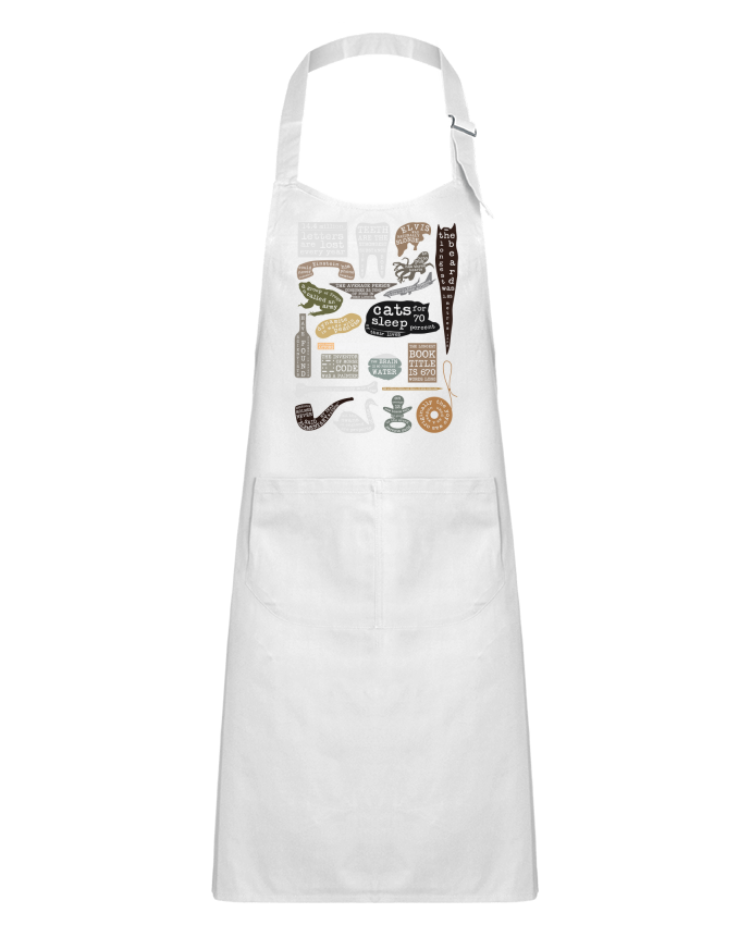 Kids chef pocket apron Useful Facts by Florent Bodart