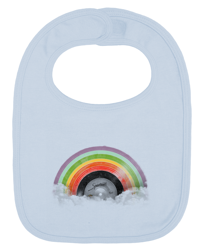 Baby Bib plain and contrast Rainbow Classics by Florent Bodart