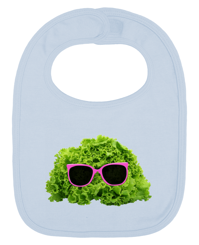 Baby Bib plain and contrast Mr Salad by Florent Bodart