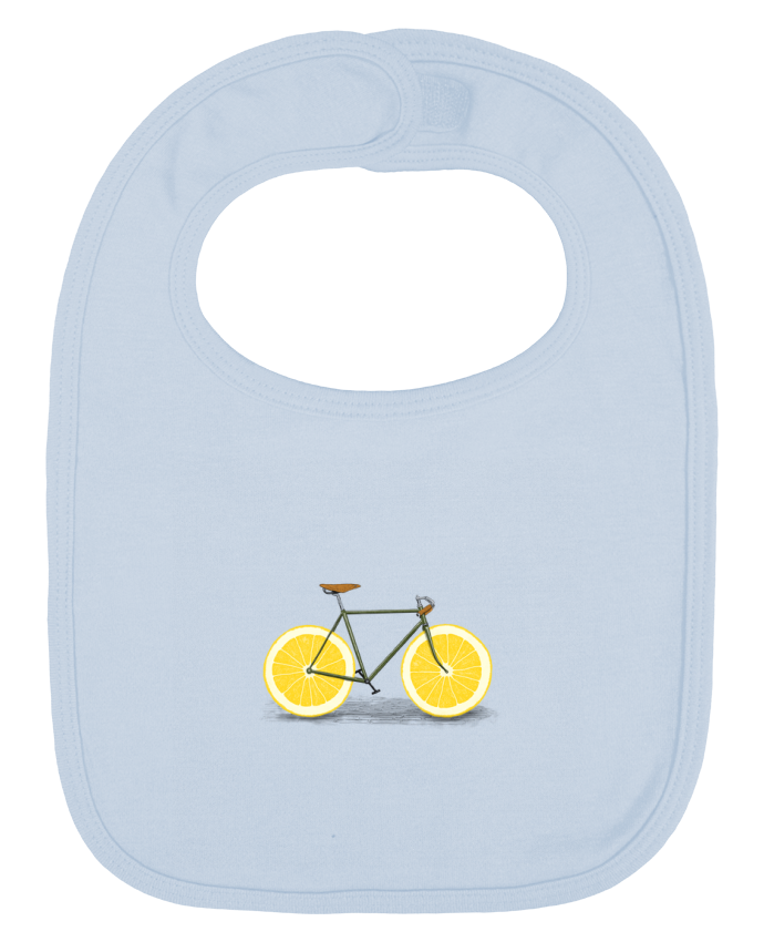 Baby Bib plain and contrast Zest by Florent Bodart