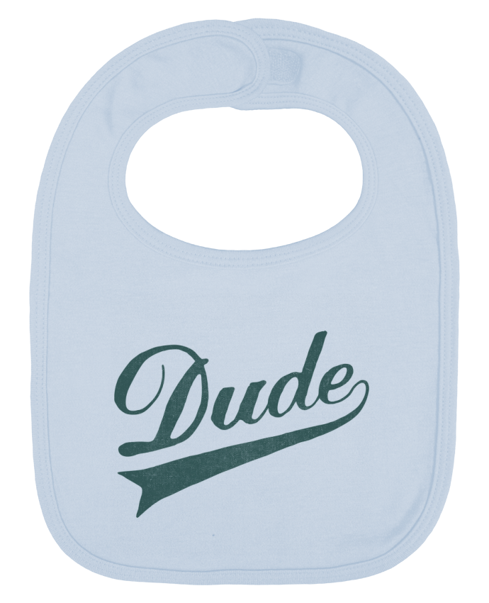 Baby Bib plain and contrast Dude by Florent Bodart