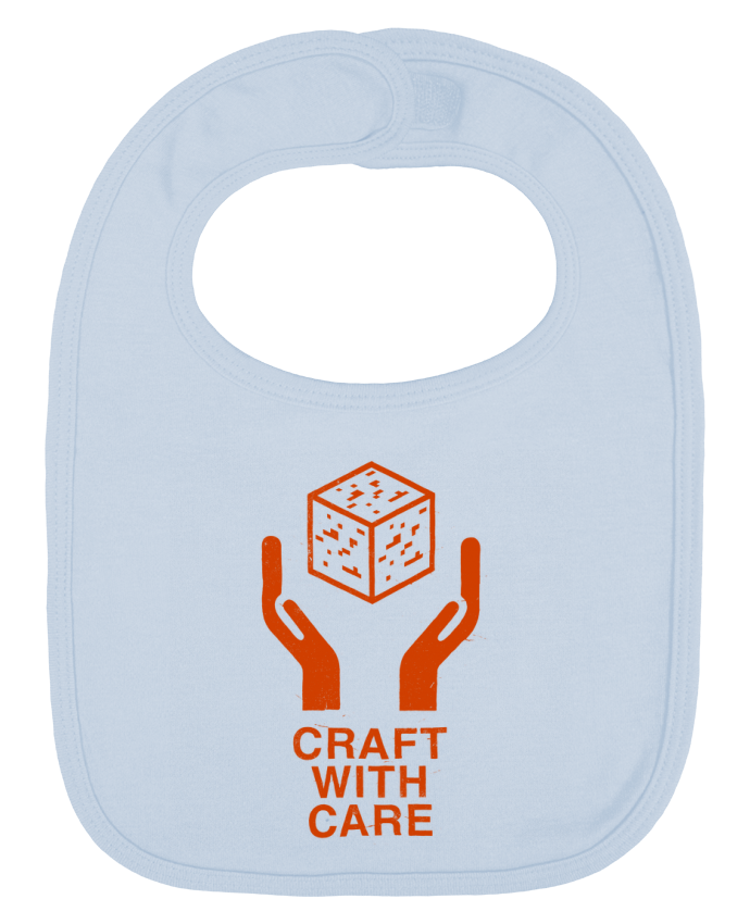 Baby Bib plain and contrast Craft with care by Florent Bodart