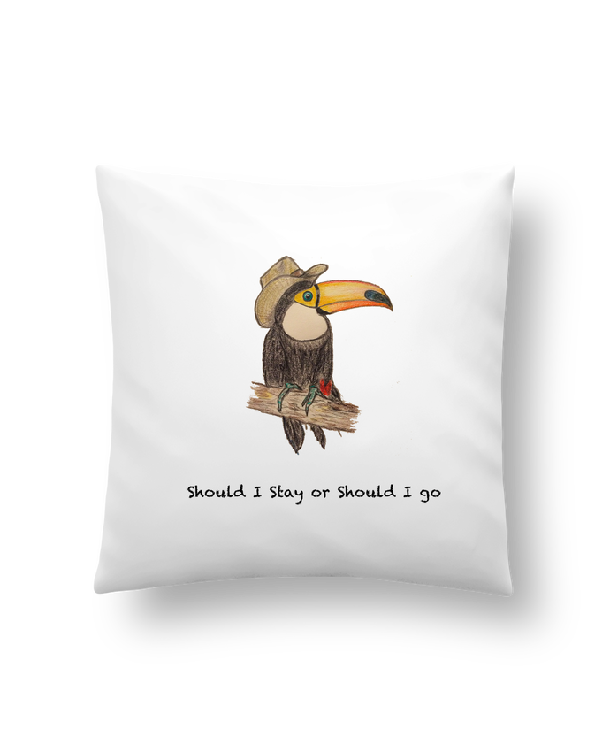Cushion synthetic soft 45 x 45 cm TOUCAN by La Paloma