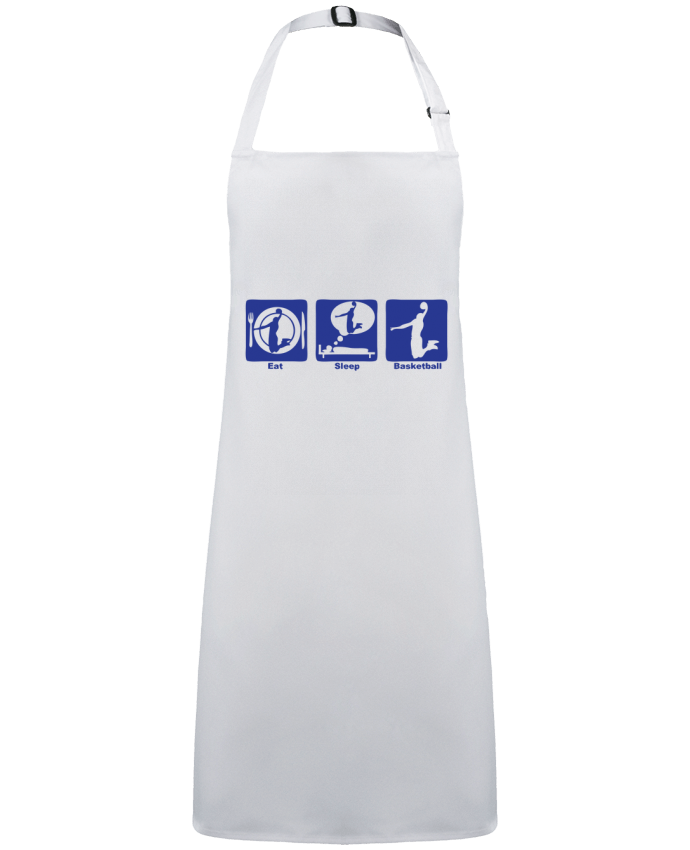 Apron no Pocket basketball basket eat sleep play dunk by  Achille