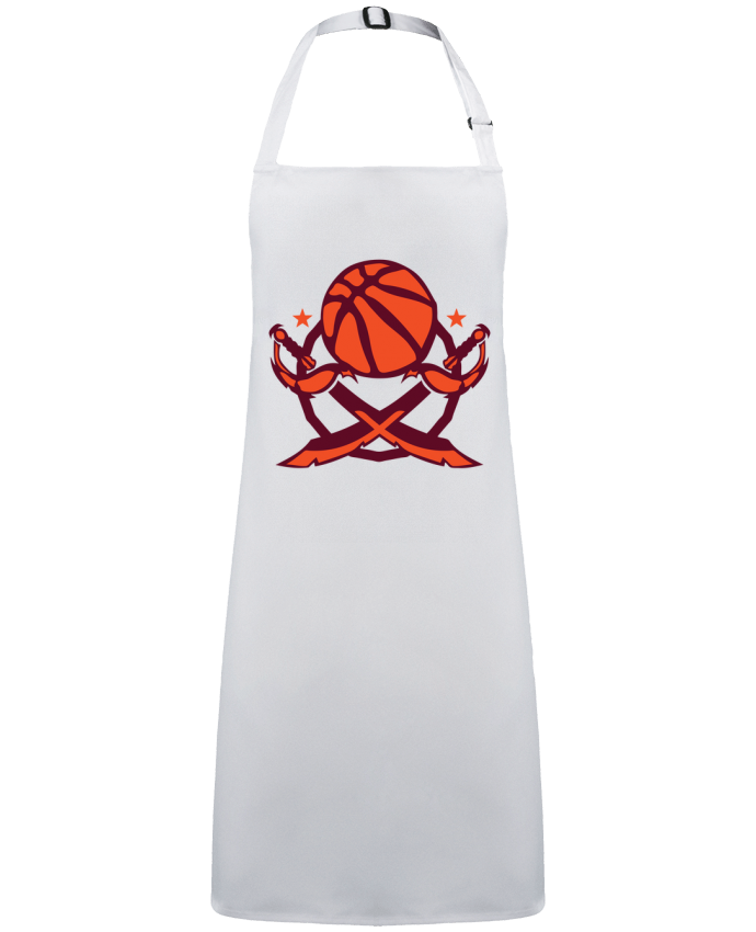 Apron no Pocket basketball logo sabre club equipe team by  Achille