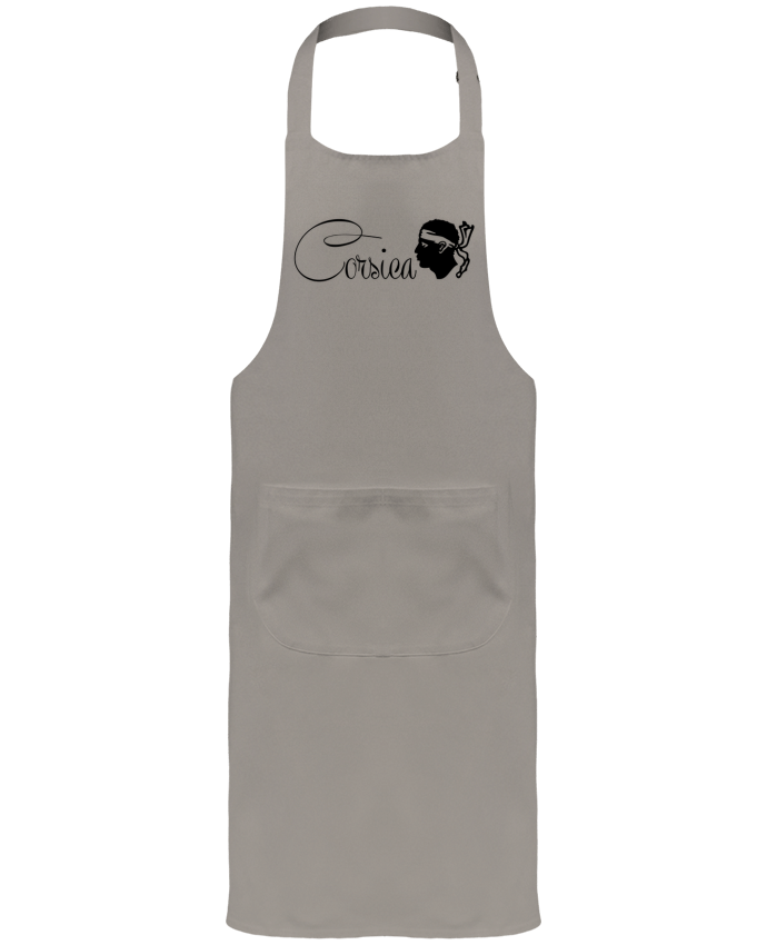 Garden or Sommelier Apron with Pocket Corsica Corse by Freeyourshirt.com
