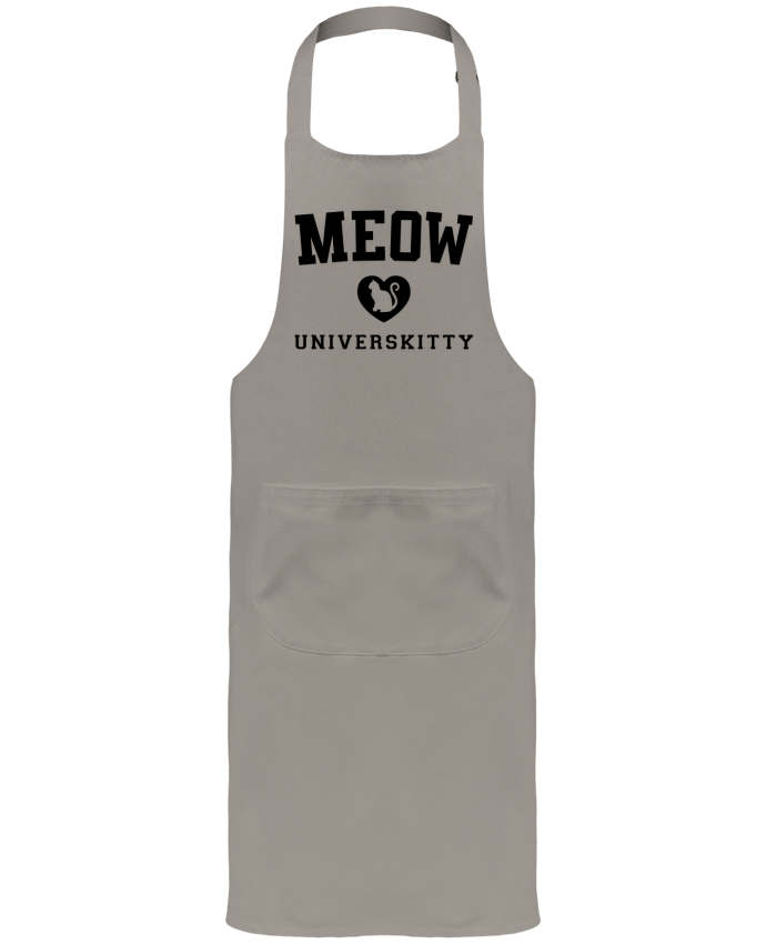 Garden or Sommelier Apron with Pocket Meow Universkitty by Freeyourshirt.com