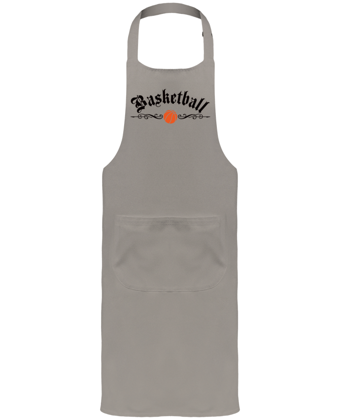 Garden or Sommelier Apron with Pocket Basketball by Freeyourshirt.com