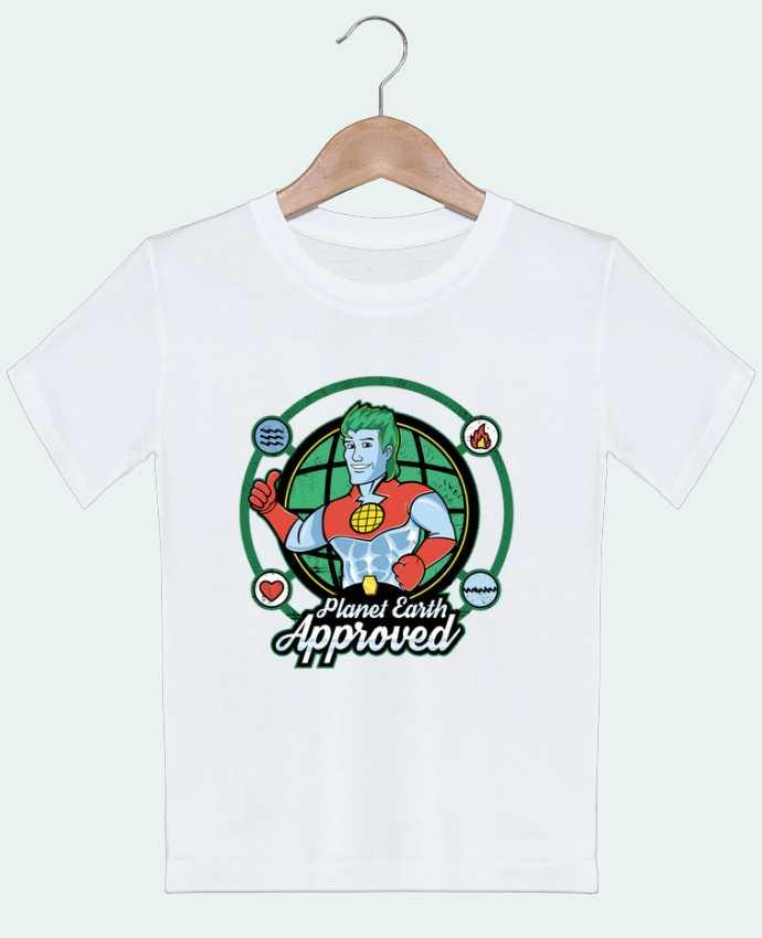 T-Shirt Kids Planet Earth Approved Kempo24