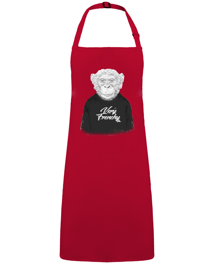 Apron no Pocket Monkey Very Frenchy by  Bellec