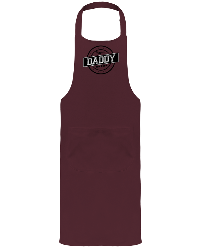 Garden or Sommelier Apron with Pocket Super daddy by justsayin