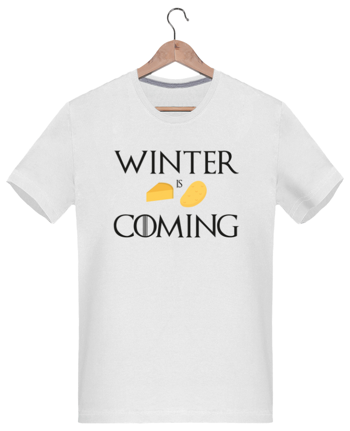 T-Shirt Men 180g Winter is coming by Ruuud