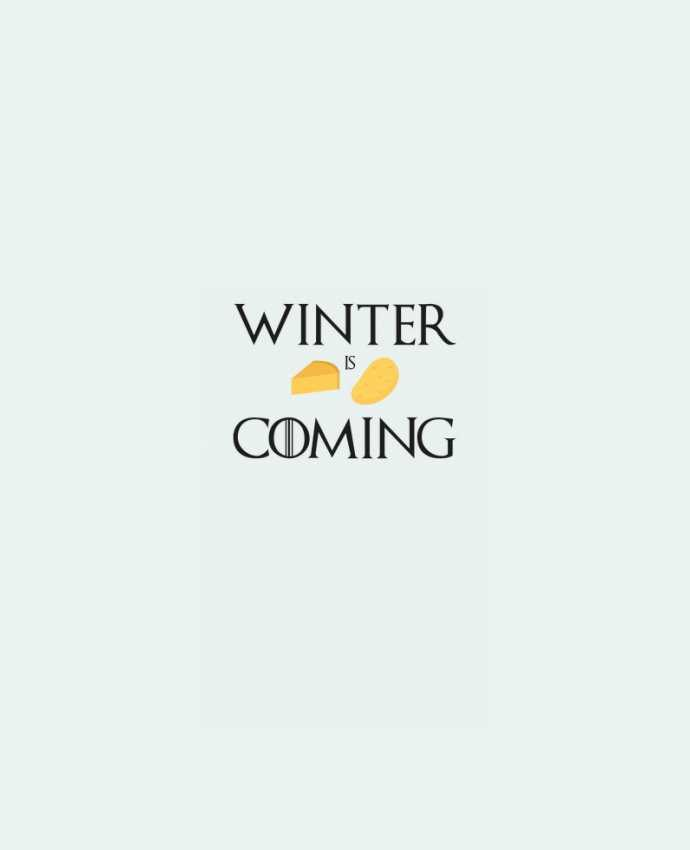 Sweatshirt crew neck Unisex Winter is coming by Ruuud