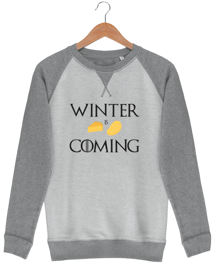 Sweat French Terry Winter is coming by Ruuud
