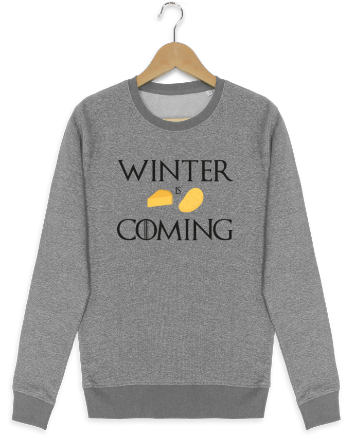 Sweatshirt crew neck Stella Seeks Winter is coming by Ruuud