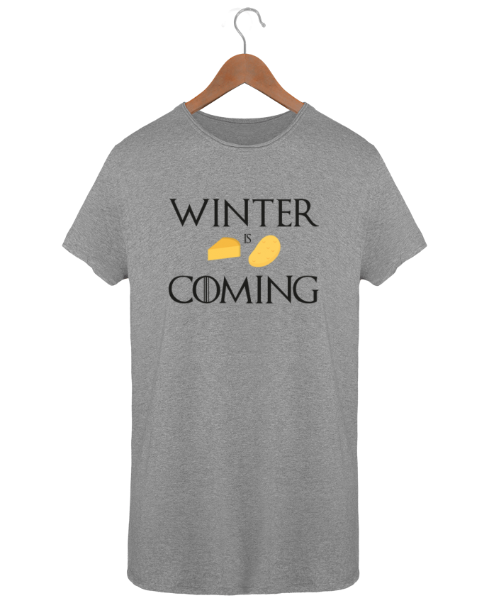 T-shirt Men Oversized Stanley Skates Winter is coming by Ruuud