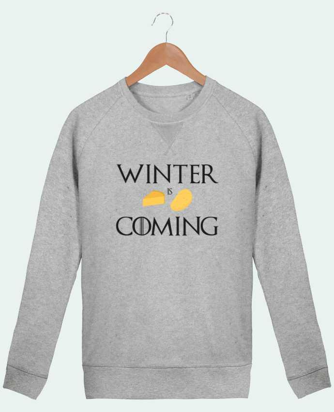 sweatshirt Men crew neck Stanley Strolls Winter is coming by Ruuud