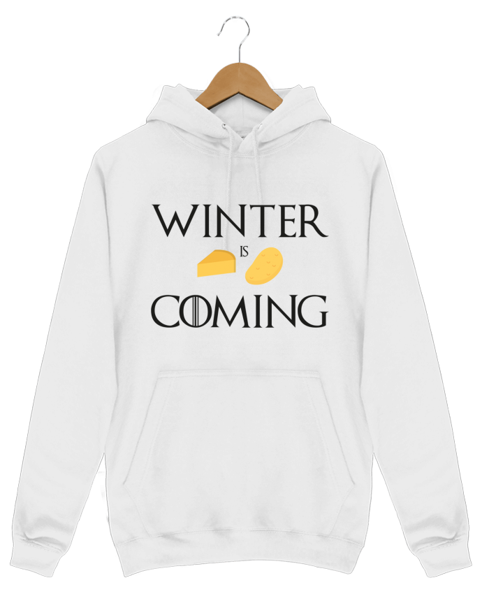 Hoodie Men Winter is coming by Ruuud