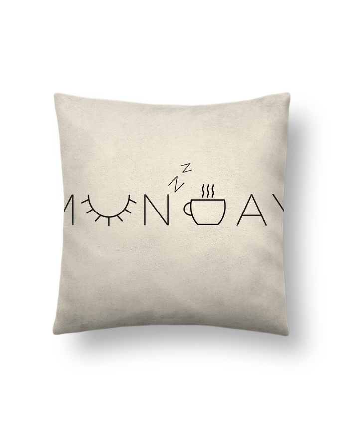 Cushion suede touch 45 x 45 cm Monday by Ruuud