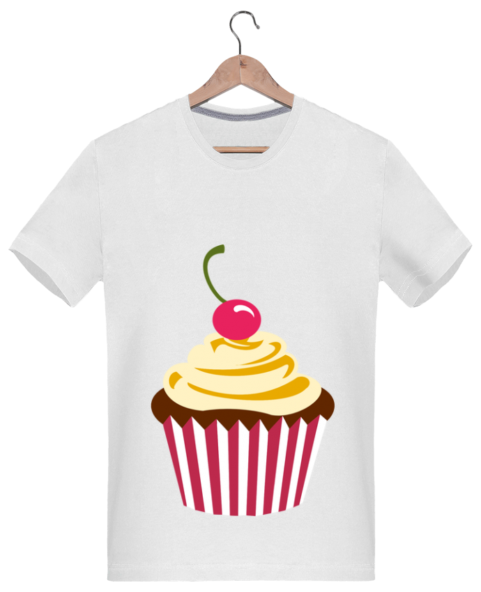 T-Shirt Men 180g Cupcake by Crazy-Patisserie.com