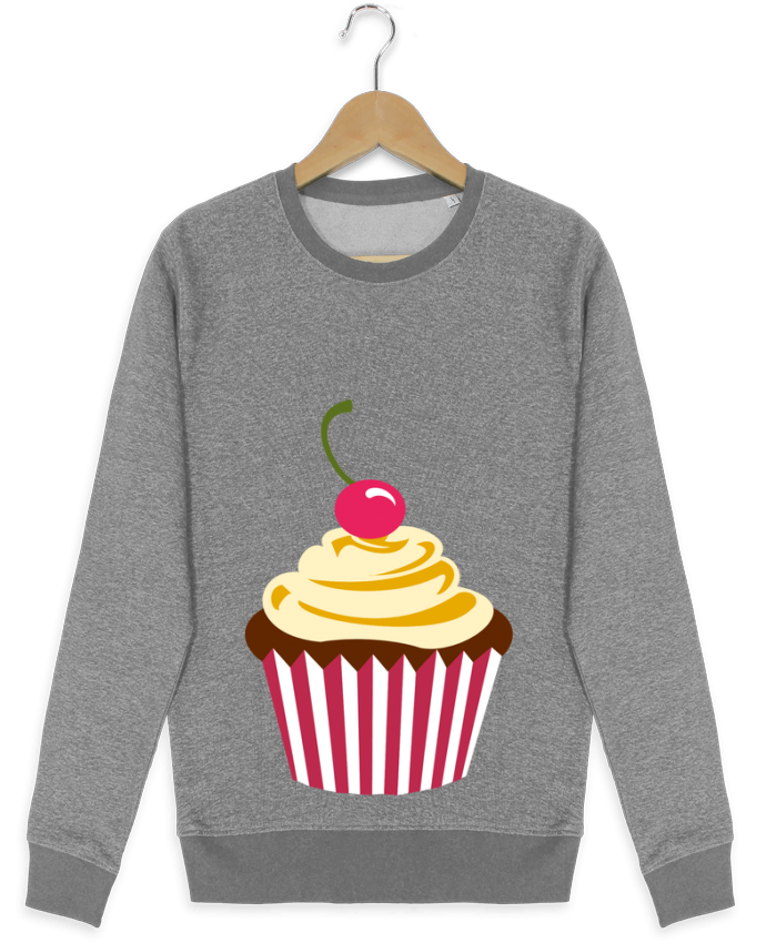 Sweatshirt crew neck Stella Seeks Cupcake by Crazy-Patisserie.com