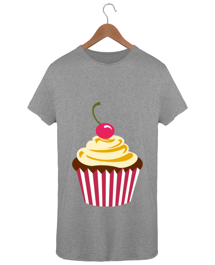 T-shirt Men Oversized Stanley Skates Cupcake by Crazy-Patisserie.com