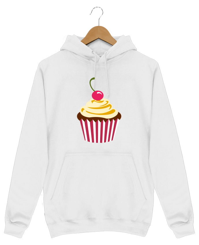 Hoodie Men Cupcake by Crazy-Patisserie.com