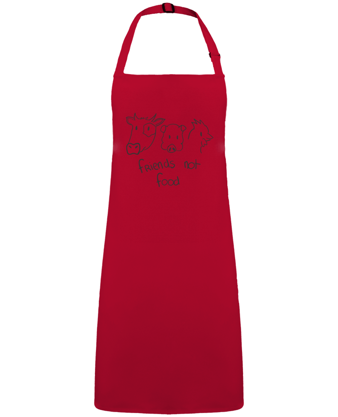 Apron no Pocket Friends not food by  AmélieK