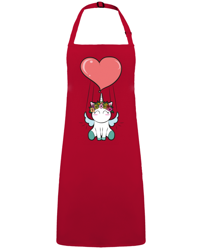 Apron no Pocket Lovely unicorn by  BlassCrea