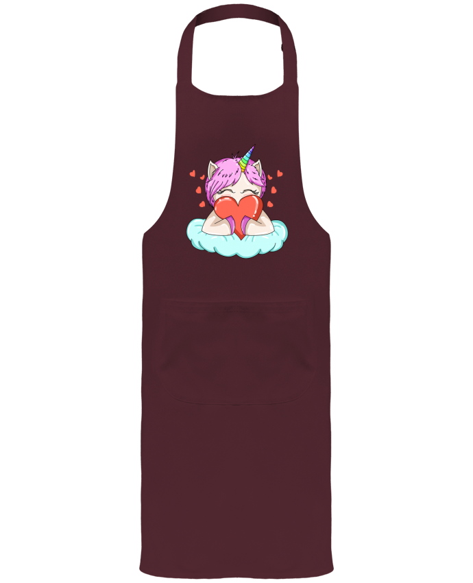 Garden or Sommelier Apron with Pocket UnicornLove by BlassCrea