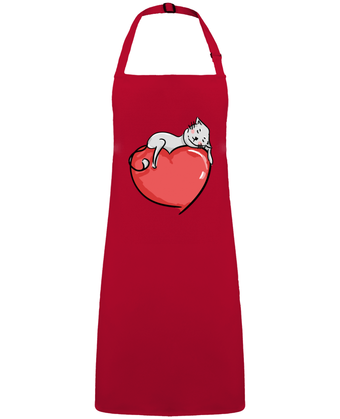 Apron no Pocket CatLove by  BlassCrea