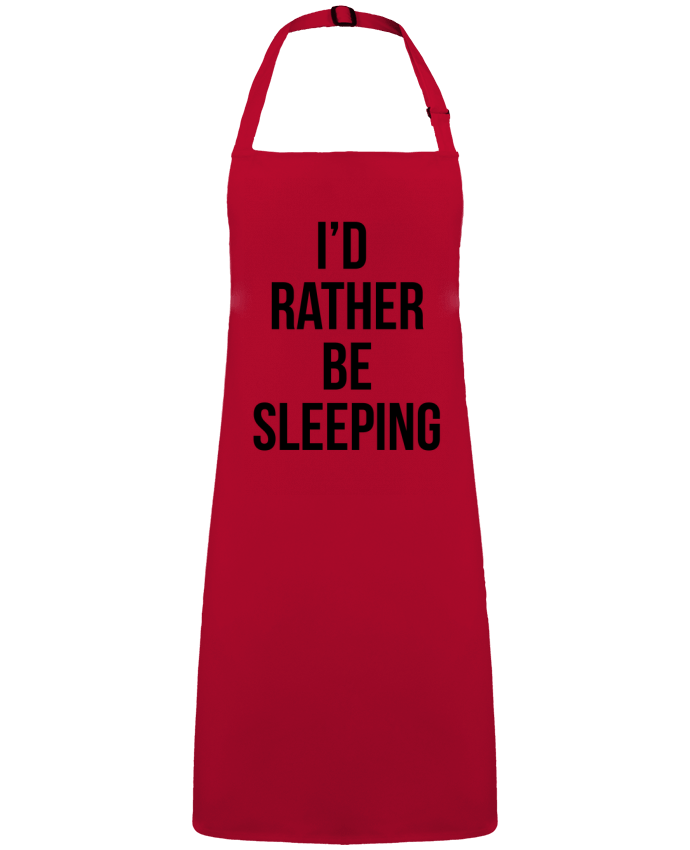 Apron no Pocket I'd rather be sleeping by  Bichette
