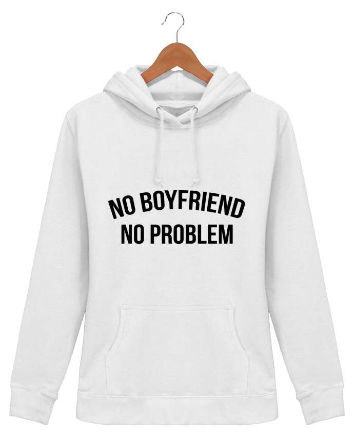 Hoodie Women No boyfriend, no problem - Bichette