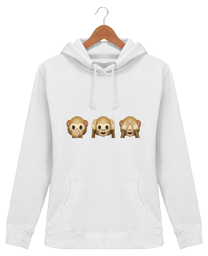 Hoodie Women Three monkeys - Bichette
