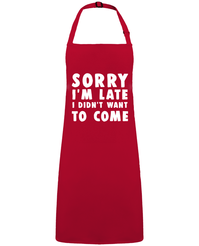 Apron no Pocket Sorry I'm late I didn't want to come by  Bichette